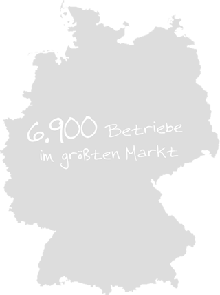 Gebäudereiniger-Innung Düsseldorf - Landkarte Deutschland